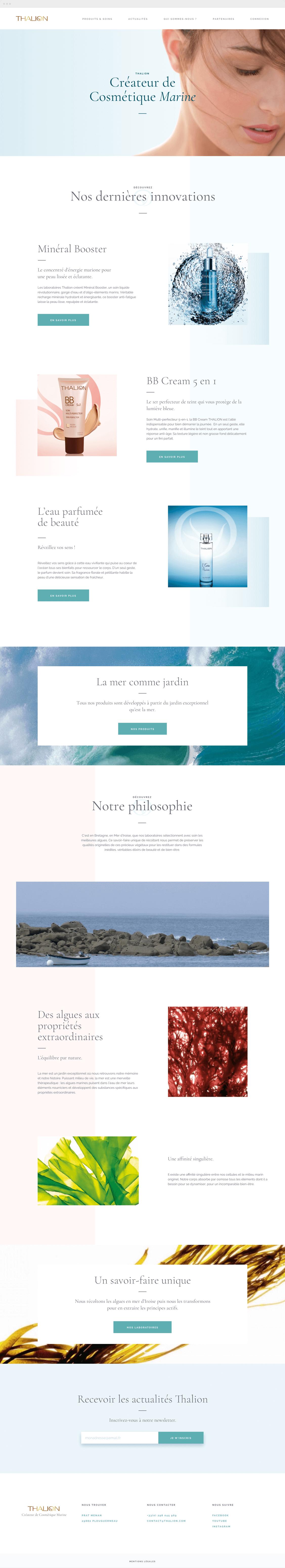 Homepage thalion