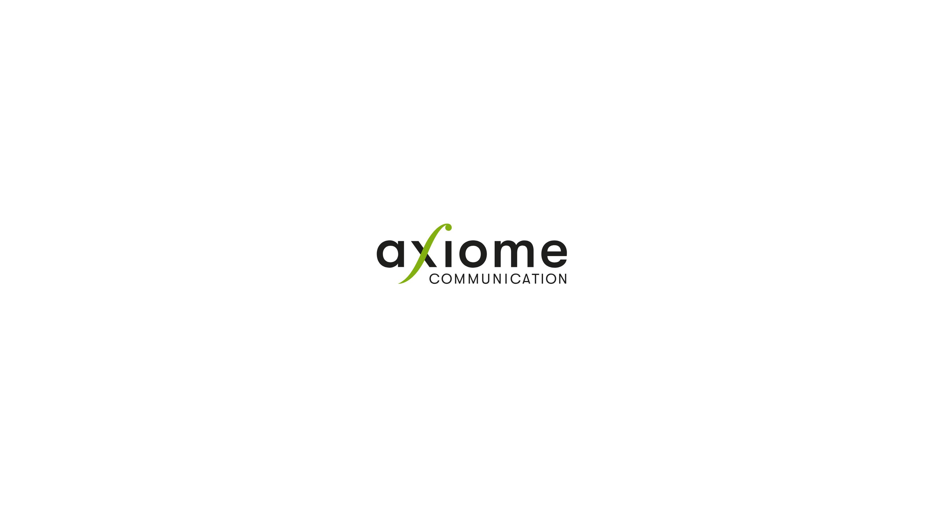 Proposition de logo pour l'agence de communication Axiome