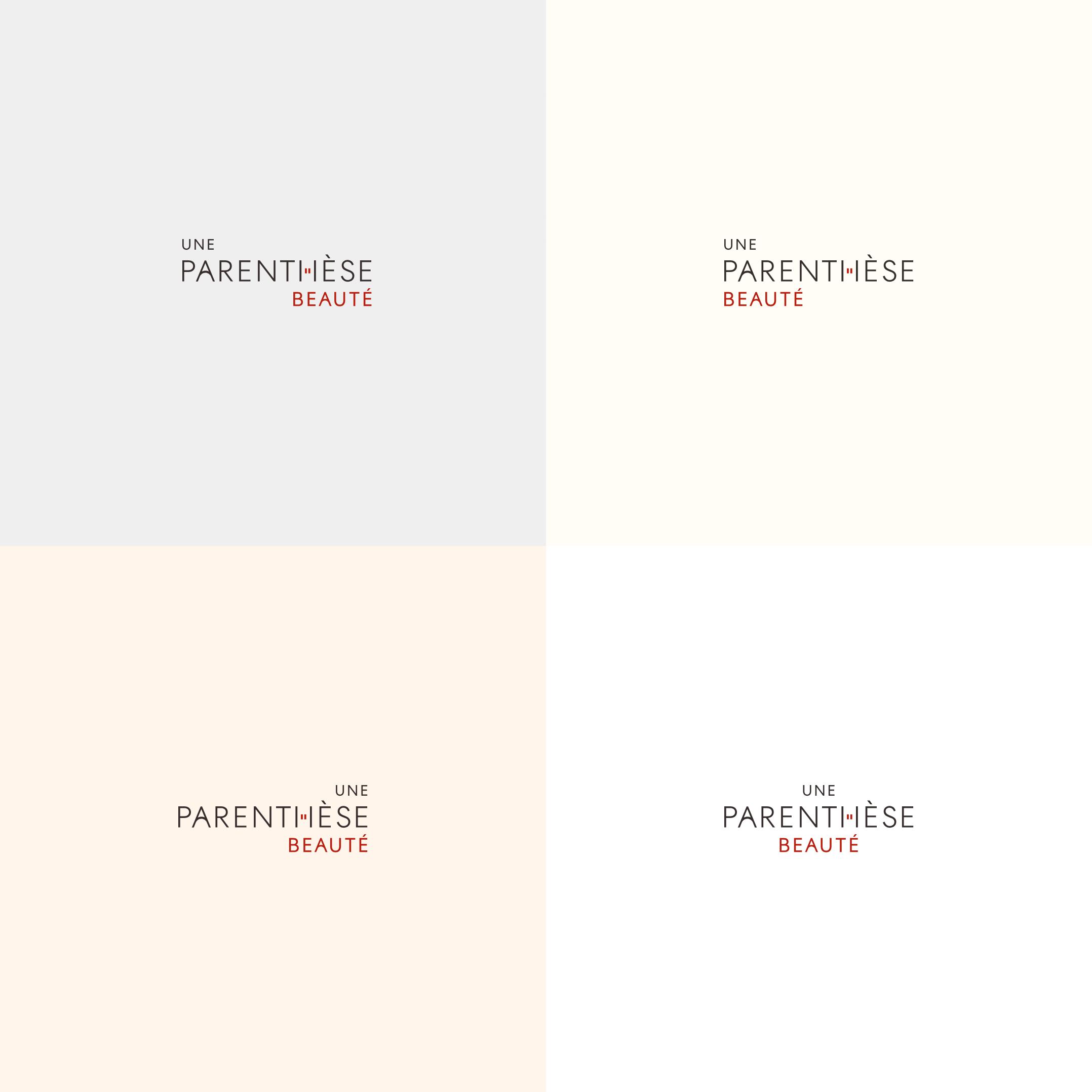 Logos différentes Une Parenthèse Beauté