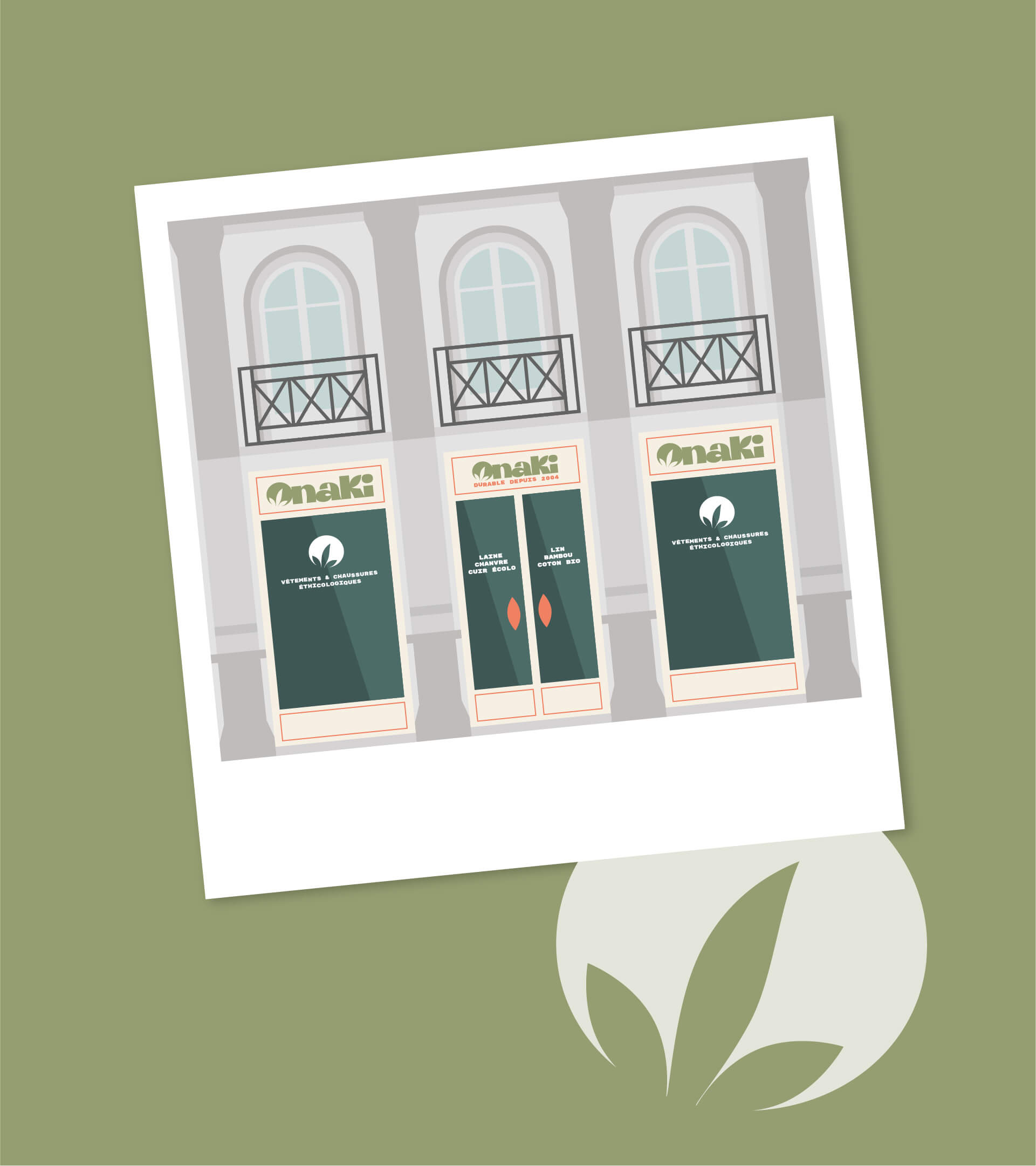 Devanture Boutique Onaki