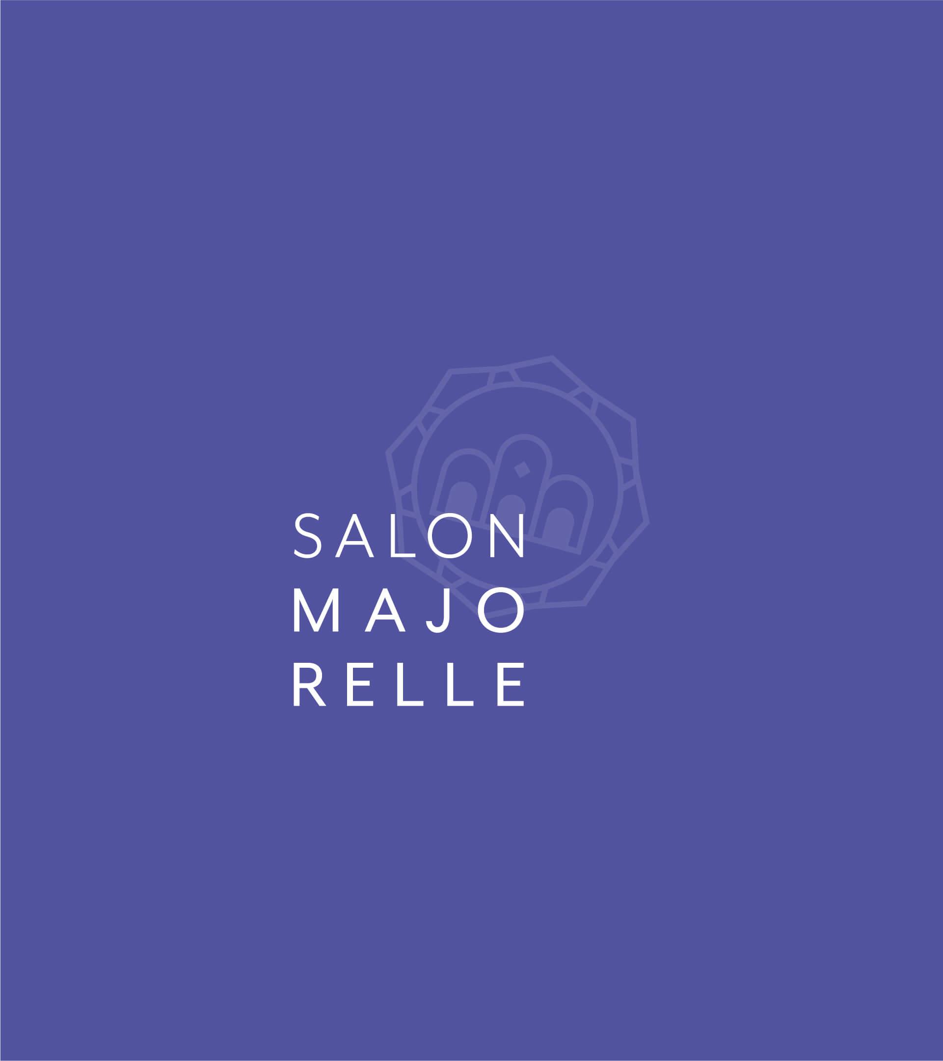 Variante numéro 3 du logo du Salon Majorelle